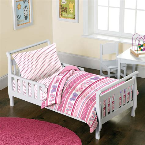Pink Toddler Bed Set Item Description