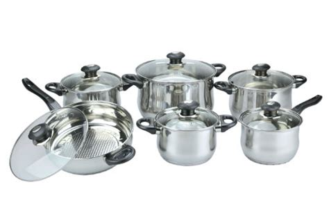 Vicenza Cookware vinaroz 12 vicenza stainless cookware cookwareset