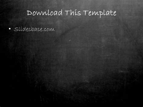 powerpoint themes free download chalkboard blackboard chalkboard powerpoint template slidesbase