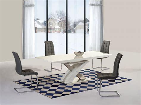 alexis extending table available from verdon grey the ga alexis xo extending white 160 220 cm dining set 6 grey