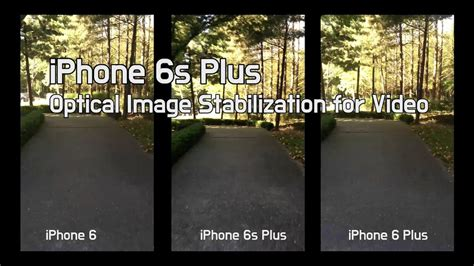 iphone   optical image stabilization comparison
