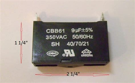 cbb61 generator capacitor generator capacitor cbb61 9uf 350vac fast shipping from usa ebay