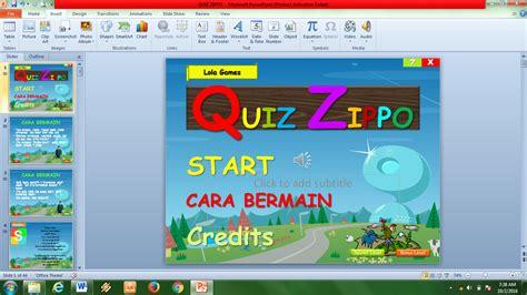 cara membuat game quiz paraa cara dan trik membuat game quiz tanpa coding di powerpoint
