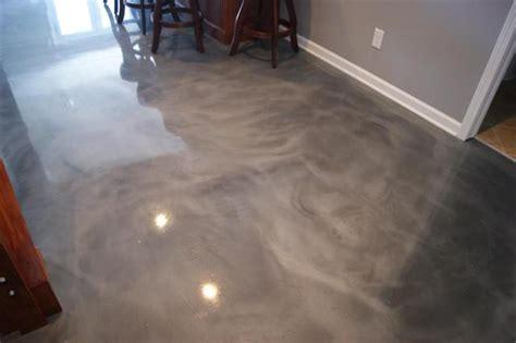 Liquid Flooring by Metallic Epoxy Floor Deco Crete Supply