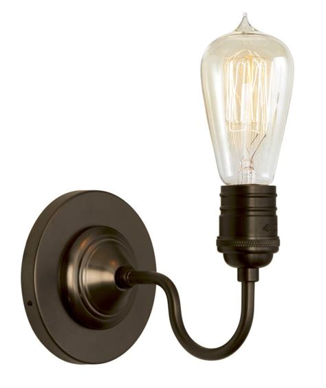 Retro Sconces lighting wall sconce retro bronze medium base retro bulb 60w districtdecor
