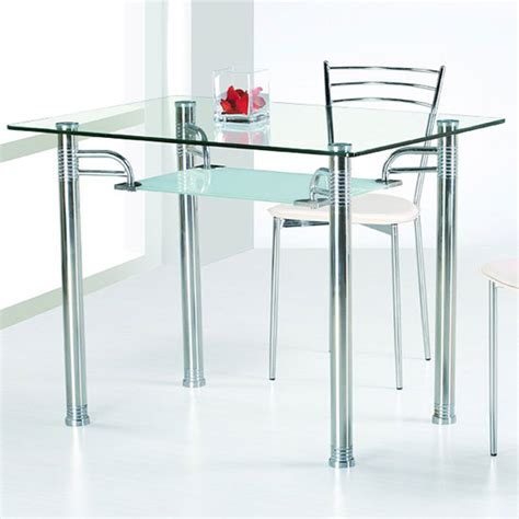 dining room tables glass top glass top dining tables homesfeed