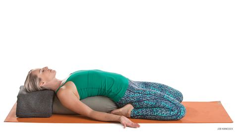reclined hero pose detoxifying yoga sequence for digestion ayurvedic cleanse