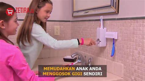 Ho4188c Holder Tempat Penyimpanan Sikat Gigi Pasta Gigi dispenser odol toothpaste dispenser