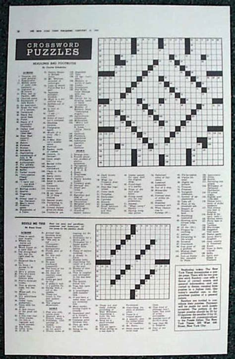 Section Crossword Clue by The New York Times Crossword Puzzle