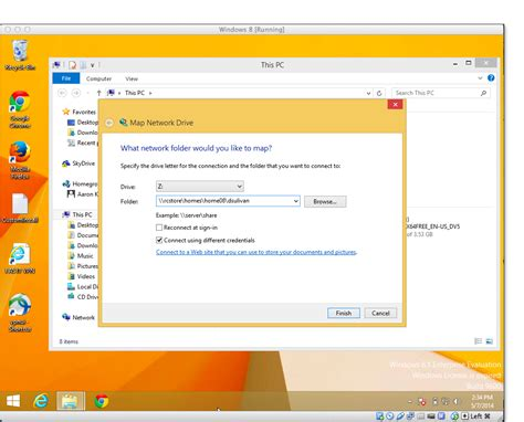 map network drive windows 8 access and login fas research computing