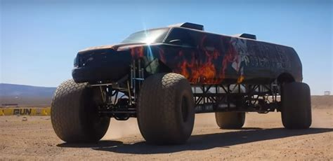 little monster truck videos world s longest monster truck costs a cool 1 million and
