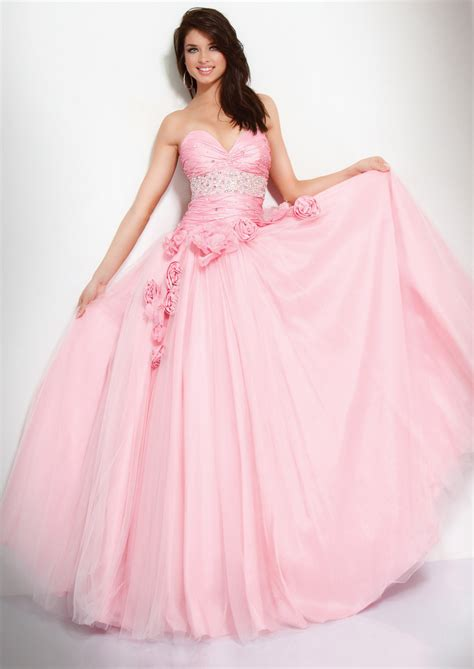 Floor Length Gown by Pink Gown Sweetheart Floor Length Zipper Prom Dresses