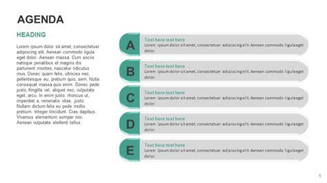 agenda list powerpoint   templates