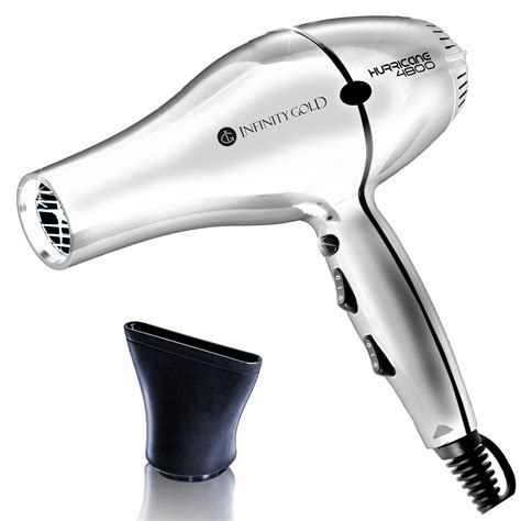 Ceramic Hair Dryer dryer ceramic tourmaline white infinitygoldpro