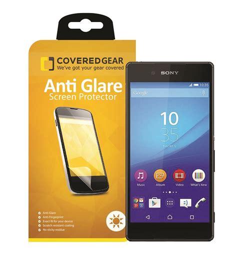 Sony Xperia Z5 Compact Anti Glare Anti Gores Screen Guard Protector coveredgear anti glare sk 228 rmskydd till sony xperia z5