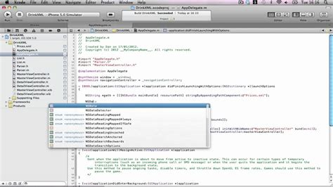 Xml Parser Tutorial Iphone | iphone tutorial xml parser part 1 youtube