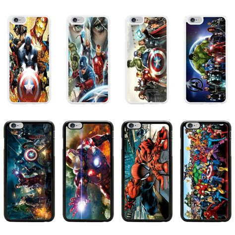 Casing Soft Captain America Marvel For Iphone 6 6s marvel cover for apple iphone 6 plus no 21 ebay
