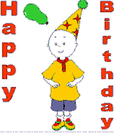 Caillou Birthday Card Caillou Birthday Cards For Kids