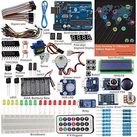 Arduino Mega Sensor Shield V20 sunfounder starter kit from knowing to utilizing for