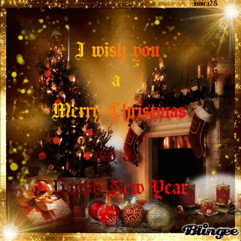 merry christmas   happy  year  friend picture  blingeecom