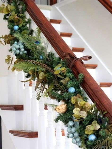 Banisters For Stairs Beautiful Christmas Stair Decorations