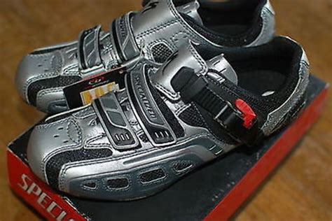specialized road bike shoes specialized comp road bike shoes size 38 6us silver new