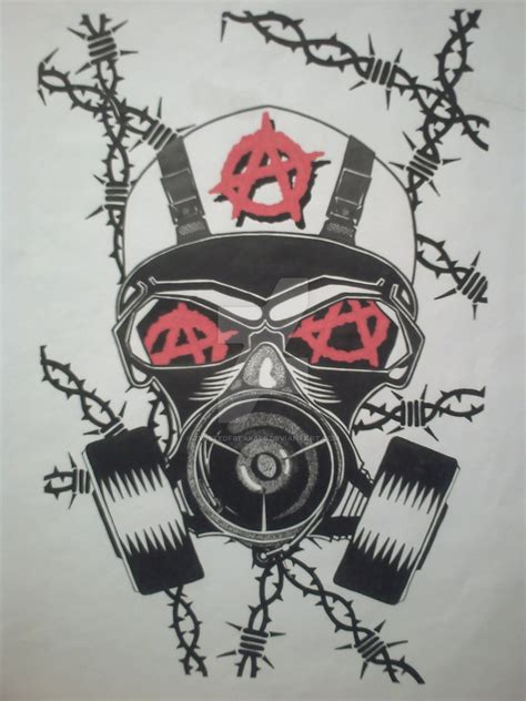 anarchy tattoos designs anarchy by twistedfreak666 on deviantart