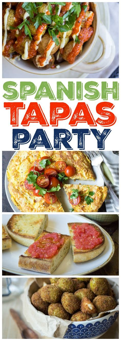 printable tapas recipes 351 best clever party ideas images on pinterest birthday