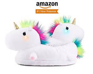 Light Up Shoes Adults Unicorn Light Up Slippers Are Magically Warm Amp Plush