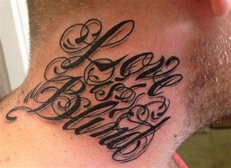 tattoo neck design 35 abstract neck letters