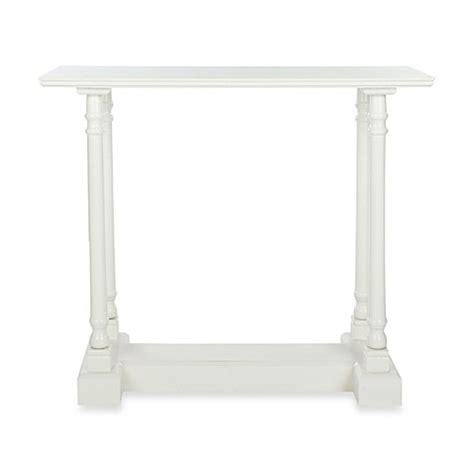 bed bath and beyond sofa table safavieh regan console table bed bath beyond