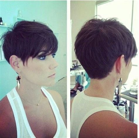 pixie haircuts front and back view of same 1000 images about short hair on pinterest pixie cuts