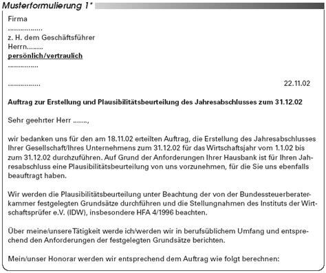 Muster Angebot Gutachten Geb 252 Hrenrecht Jahresabschluss Mit Plausibilit 228 Tsbeurteilung Wichtige Arbeitshilfen F 252 R Die Praxis