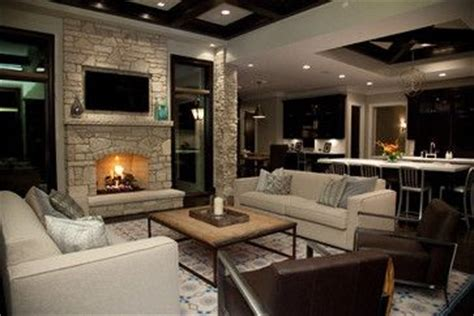 gorgeous open concept living room in contemporary style contemporary living photos small open plan kitchen living