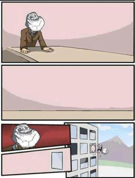 Office Window Meme - forever alone