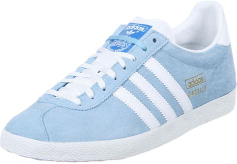 light blue adidas shoes adidas gazelle og shoes blue