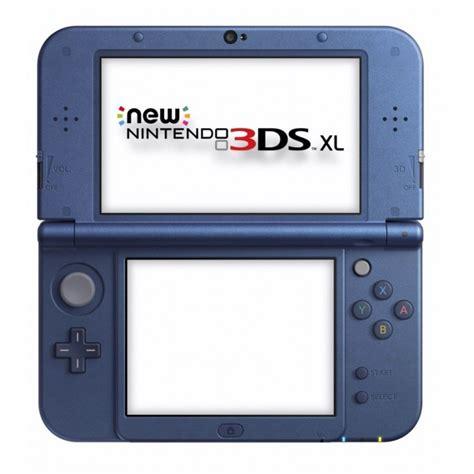 console nintendo 3ds xl nintendo 3ds xl bleu