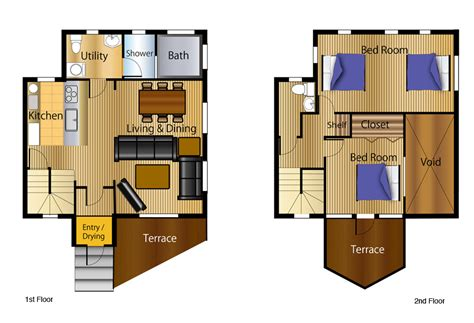 chalet floor plans and design 2 bedroom chalet floor plans chalet home plans ideas picture
