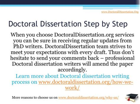 writing the doctoral dissertation ppt your personal doctoral dissertation writing service