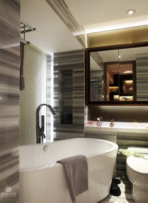 compact bathroom sophisticated home with asian tone