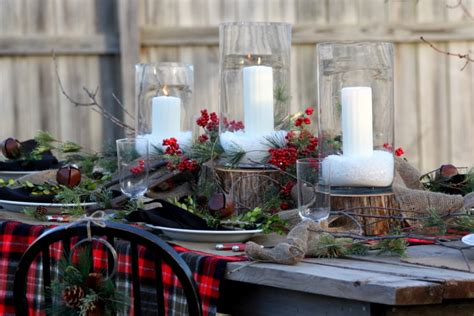 Diy Kitchen Island Table cool christmas centerpieces mode kansas city rustic dining