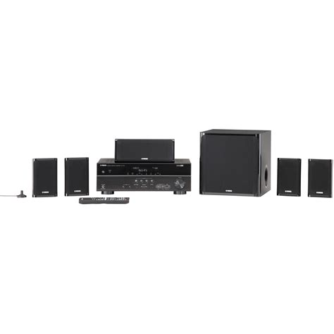 yamaha yht 497 5 1 channel home theater in a box system