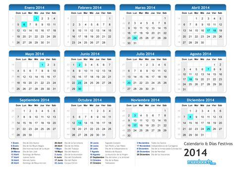 Calendario 2014 Colombia Calendario 2014 Festivos Imagui