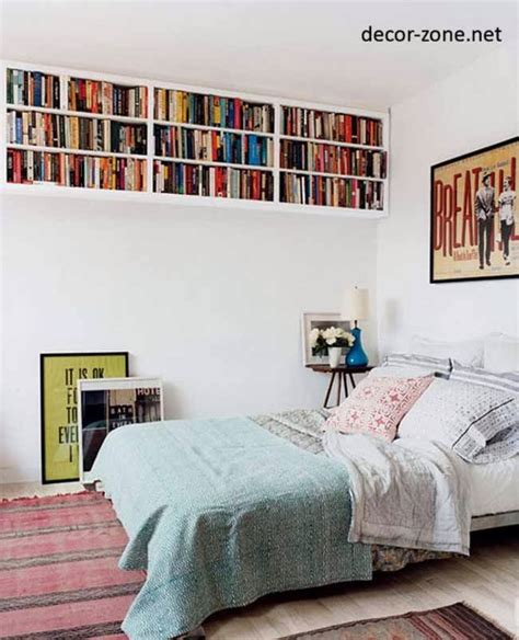 bedroom bookshelves bedroom shelving ideas 20 bedroom shelves designs