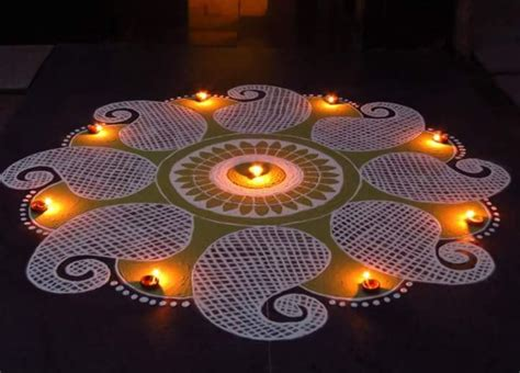 new year designs 100 rangoli design ideas images for diwali 2017