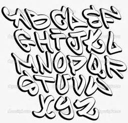 graffitie alphabet graffiti fonts