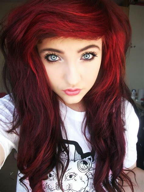 very sexy burgundy hair color awesome hair style i love this color scene fashion hair pinterest