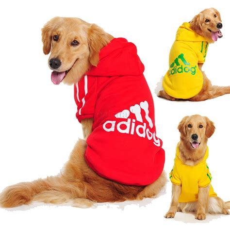 jackets for dogs big clothes coat jacket clothing for dogs large size autumn fall warm hoodie