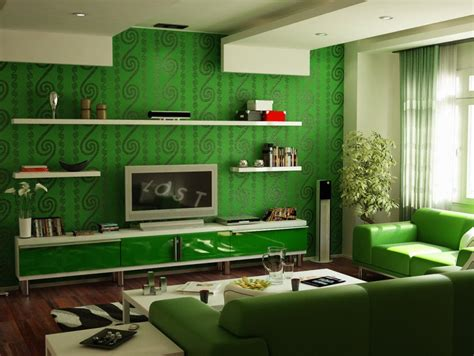 home decor green fresh family room interior with natural green 4 home decor