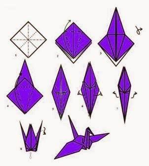 cara buat origami burung yang mudah cara membuat origami burung camar blog curan